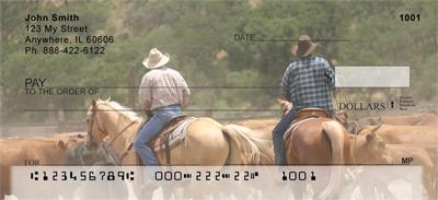 Life of a Cowboy Personal Checks