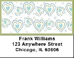Love by Deb Eiseman Address Labels