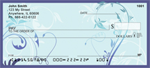 Stylistic Filigree Personal Checks