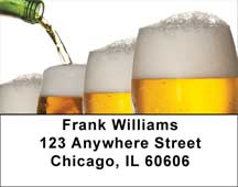A Cold One Address Labels