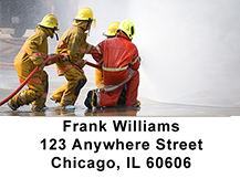 Firefighter Training Address Labels