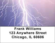 Electrical Storm Address Labels