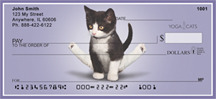 Flexible Kittens Yoga Cats Personal Checks