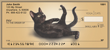 Purrfect Routine Yoga Cats Personal Checks