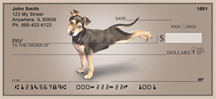 Yoga Dogs Personal Checks