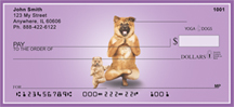 It Takes Two to Yoga Dogs Personal Checks