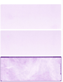 Violet Marble Blank Bottom Laser Checks