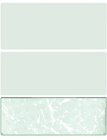 Green Marble Blank Voucher Checks Bottom Style
