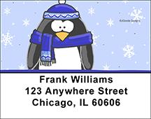 Jen Goode's Penguins Address Labels