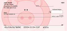 Jen Goode's Pigs Personal Checks