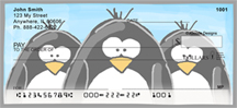 More Jen Goode's Penguins Personal Checks