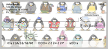 Jen Goode's Penguin Personalities Personal Checks