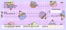 Jen Goode's Cupcake Party Personal Checks