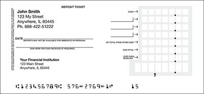 Personal Deposit Tickets