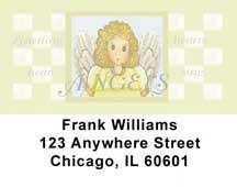 Angels Address Labels by Lorrie Weber