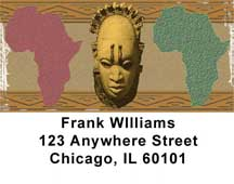 African Pride Address Labels
