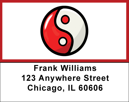 Yin-Yang Address Labels $ 5.99
