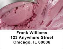 Ice Cream - Rich & Creamy Address Labels