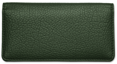 Forest Green Leather Cover