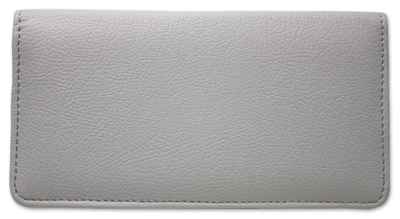 Grey Leather Cover
