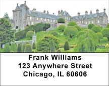 European Castles Topiary Gardens Address Labels
