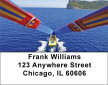 Parasailing Address Labels