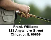 For Fly Fishing Enthusiasts Address Labels