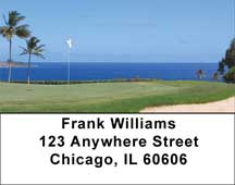 Golf Courses On The Ocean Address Labels