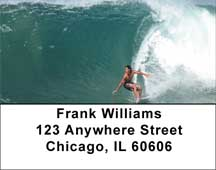 Extreme Surfing Address Labels