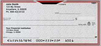 Stylin' Personal Checks