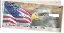 American Eagle Pride Side Tear Personal Checks