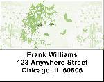 Flower Girl Address Labels