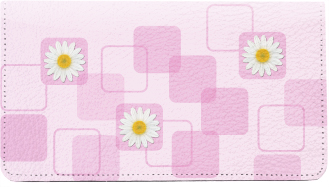 Daisies Leather Cover
