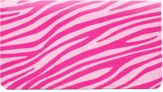 Zebra Pattern Leather Cover