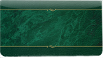 Green Marble Leather Cover