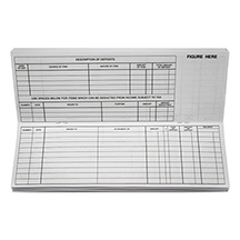 Business Pocket Check Register