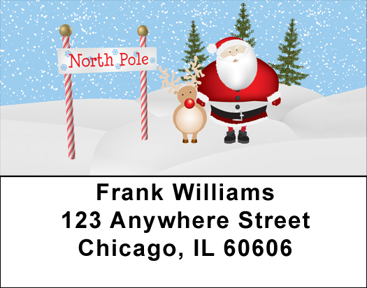 Up North Address Labels