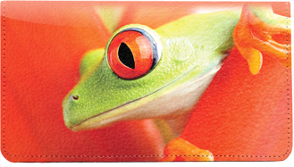 Frogs Leather Cover