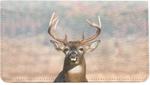 Big Horned Buck Deer Leather Cover