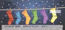 Holiday Stockings Personal Checks