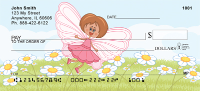 Friendly Fairy Personal Checks
