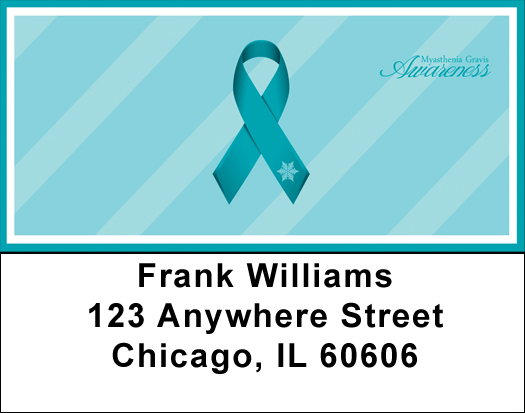 Myasthenia Gravis Awareness Address Labels