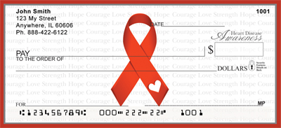 Heart Disease Awareness Ribbon