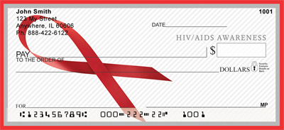 HIV/Aids Awareness Red Ribbon