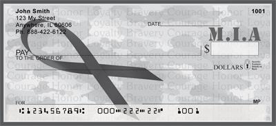MIA Remembrance Ribbon Checks