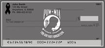 Army Checks - POW/MIA Remembrance Ribbon Checks