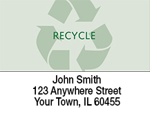 Recycle Symbol Address Labels