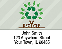 Recycle Tree Address Labels