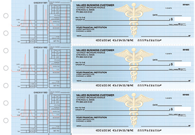 Business Checks Store -  Medical Multi Purpose Designer Business Checks