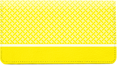 Yellow Safety Leather Cover